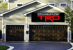 TRD Banner 2x8Ft Toyota Racing Development Flag Car Motor Sports Show Garage NEW