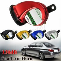 5-Color 510Hz 130DB 12V Car Truck Motorcycle Boat Loud Snail Air Horn Siren