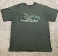Magellan Men's 2XL XXL T Shirt Turkey Hunting Short Sleeves Crew Neck Polyester