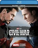 Captain America Civil War (Blu-ray) Marvel Phase 3