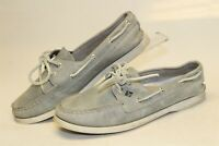 Sperry Top Sider Womens Size 7.5 M Leather 2-Eye Lace Up Flat Shoes STS94968