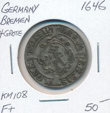 GERMANY BREMEN 4 GROTE 1646 KM108 - F+