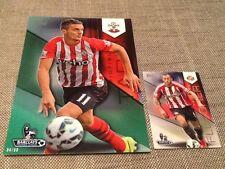 Dusan Tadic Southampton /99 Green Topps Premier Gold 2014 5x7 art card #105
