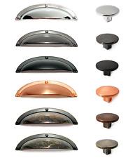 Cup Knobs Drawer Shaker Pull Cabinet Cupboard Kitchen Wardrobe Door Handle Match