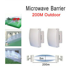 MCB-150 200 Outdoor Microwave Barrier Radar Beam Detector Intrusion Sensor