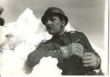 PHOTOGRAPHIE ORIGINALE CINEMA Georges PECLET dans LES MONTS EN FLAMME 1931