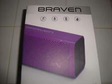 BRAVEN 705 Wireless Bluetooth Speaker Water-Resistant 12 Hour Playtime Purple