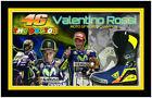 Valentino Rossi Moto GP World Champion Signed 2016 VR46 Boot Framed – $999