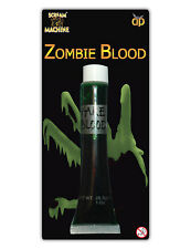 Green Halloween Zombie Fake Blood Theatrical Make up Fancy Dress Party Costume