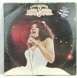 🎙 Donna Summer - Live And More 2 LP VG+ NBLP 7119 Promo 1978 USA Vinyl Record!!