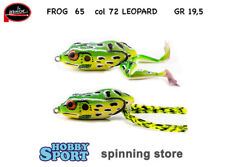 FROG 65 MOLIX  COLORE 72 LEOPARD FROG SPINNING BLACK BASS