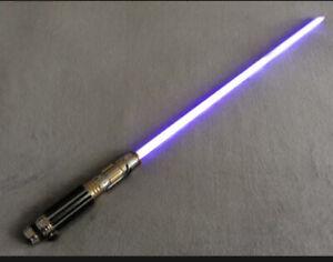 Star Wars Master Replicas Mace Windu Force FX Lightsaber Collectible