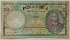 More details for portugal banknote: 20 escudos, 1954