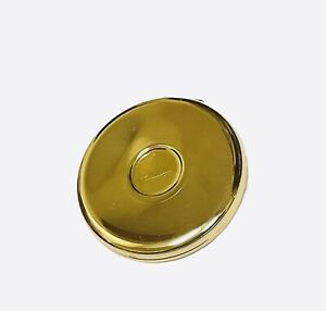 Dolce Gabana Compact Mirror Double Sided Goldtone Metal