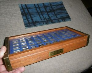 Franklin Mint Great Sailing Ships Of History Sterling Silver Ingot Collection