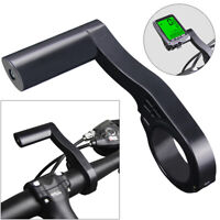 Cycling Bike Handlebar Holder Bicycle Stopwatch Extension Bracket Lamp Extender