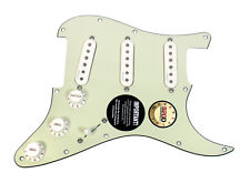 Pre Wired Fishman Fluence Loaded Pickguard for Fender Strat Stratocaster MG/PA