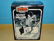 KENNER STAR WARS VINTAGE AT-ST SCOUT WALKER #2 LOSE KOMPLETT MIT ESB BOX