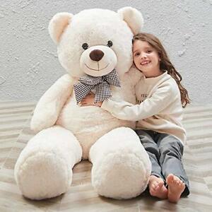 MaoGoLan Giant Teddy Bear 4ft Big Teedy Bear Stuffed Animals Plush Toy Soft Bear