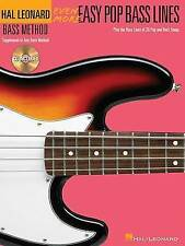 NEW Even More Easy Pop Bass Lines: Supplement To Any Bass Method