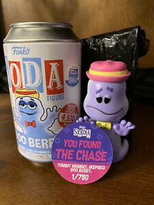 Funko Soda - Ad Icons Boo Berry - Funko Shop Limited CHASE - 1 out of 750!