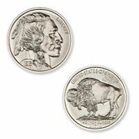 1 - 2 oz .999 Silver Round - Indian/Buffalo Nickel Tribute -  High Relief - Unc.