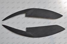 Fiberglass Headlight Eyebrows Eyelids Covers for 08-12 Toyota Corolla JDM USDM