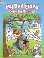 My Backyard Color by Number, Paperback by Swanson, Maggie, ISBN 0486814610, I...