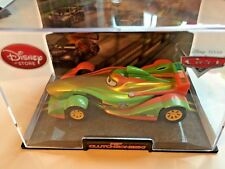 Disney Pixar Die Cast Cars - Rip Clutchgoneski in display case - Scale 1:43 New