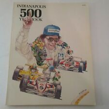 Indianapolis 500 Yearbook Paperback 1983