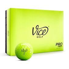 VICE PRO NEON – Golfbälle – 12 St.Neu! Golfzubehör Golfball Tagesleuchtfarbe