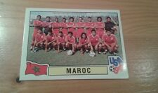 N°410 TEAM EQUIPE ELFTAL # MAROC PANINI USA 94 WORLD CUP ORIGINAL 1994