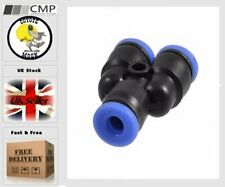 6mm Equal Y Pneumatic fittings tube push fit connector Union  UK SELLER  B11