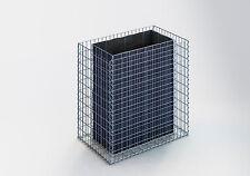 GABIONEN-HOCHBEET Gabione L: 100 H: 100 T: 60 cm, Maschenweite 5 x 10, Wand 10cm