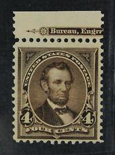 CKStamps: US Stamps Collection Scott#254 4c Lincoln Mint NH OG