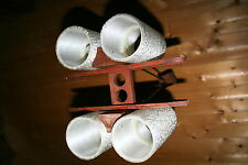 lampe lustre suspension vintage design années 60 scandinave danemark bois