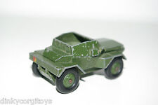 DINKY TOYS 673 SCOUT CAR ARMY GOOD