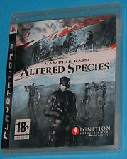 Vampire Rain - Altered Species - Sony Playstation 3 PS3 - PAL