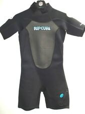 NEW RIP CURL SURF WOMEN CLASSIC SPRING WET SUIT 2.2mm NEOPRENE SUIT SIZE 8 icb20