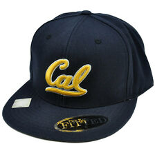 Ncaa Top of World California Golden Bears Licensed Flat Bill Fitted 8 Hat Cap