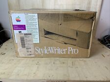 Vintage Apple Color StyleWriter PRO Computer Inkjet Printer Macintosh Mac 1994