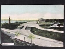 Vintage Postcard - Devon #A72 - RP Plymouth Hoe From Citadel - Lighthouse
