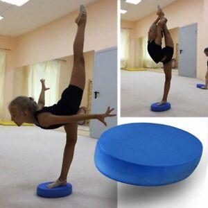 Yoga Foam Board Balance Pad Gym Fitness Exercise Cushion Blue Oval Cushion New