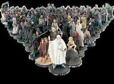 LORD OF THE RINGS FIGURES CHESS PLAYING HOBBIT #145 RARE SALE!!!