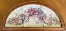 "Bradford Exchange Lena Liu's ""Bless Our Home"" Collectors Plate Set Framed Number"