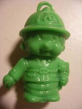 PVC figurine KIKI cadeau surprise lessive BONUX Monchichi Bucheron Vert