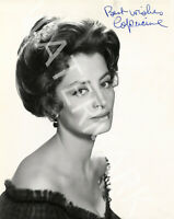 CAPUCINE SIGNED 10X8 PHOTO, GREAT STUDIO SHOT IMAGE, LOOKS AWESOME FRAMED