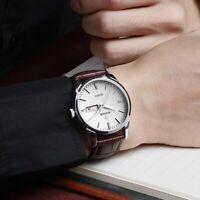 Armbanduhr Herren Quarz ultraflach Wasserdichte Quarzarmbanduhr