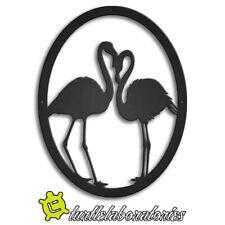 Flamingos Metal Art Wall Hanging Sculpture Nature