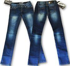 Jeans Women's Lexxury Low Rise Skinny Trousers Denim Blue M